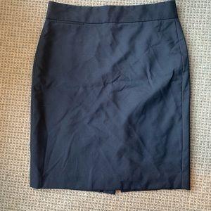 Lightweight Wool J. Crew pencil skirt